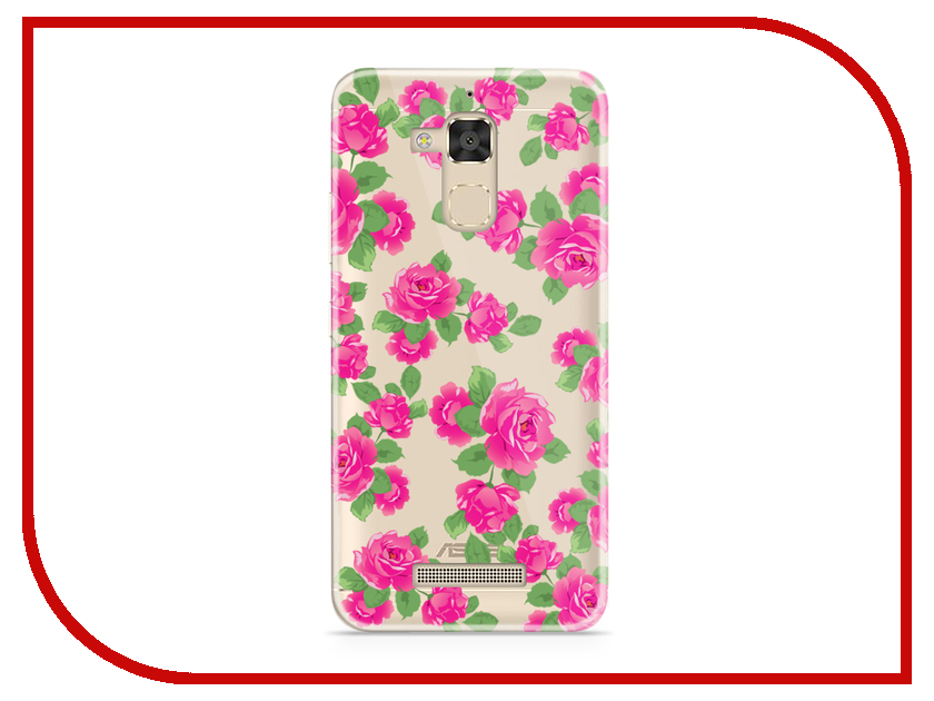 Аксессуар Чехол Asus ZenFone 3 Max ZC520TL With Love. Moscow Silicone Flower 5 5893 аксессуар чехол samsung galaxy a7 2017 with love moscow silicone lips 5080