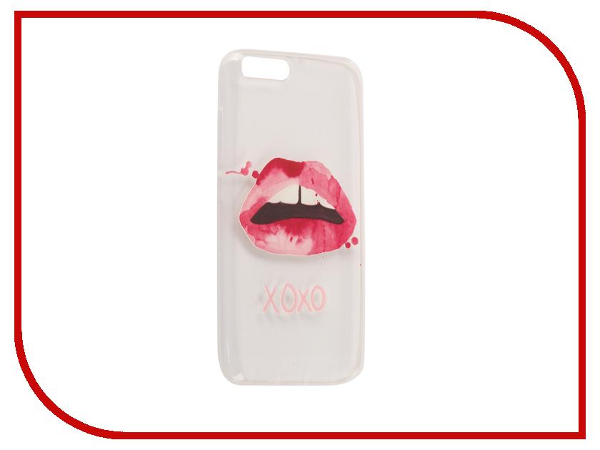 Аксессуар Чехол для Xiaomi Mi6 With Love. Moscow Silicone Lips 6032 аксессуар чехол xiaomi mi6 with love moscow silicone ice cream 6013