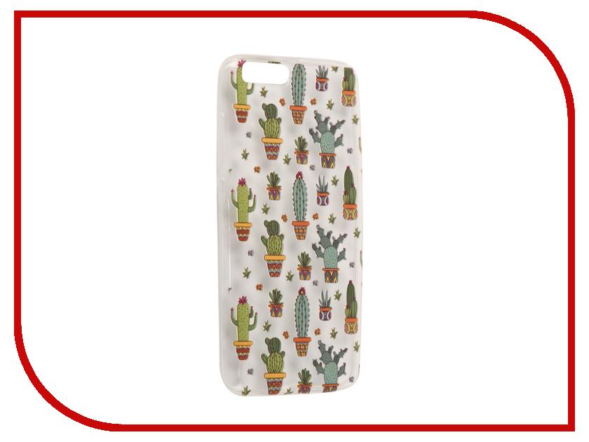Аксессуар Чехол для Xiaomi Mi6 With Love. Moscow Silicone Cactus 6036 аксессуар чехол xiaomi mi6 with love moscow silicone ice cream 6013