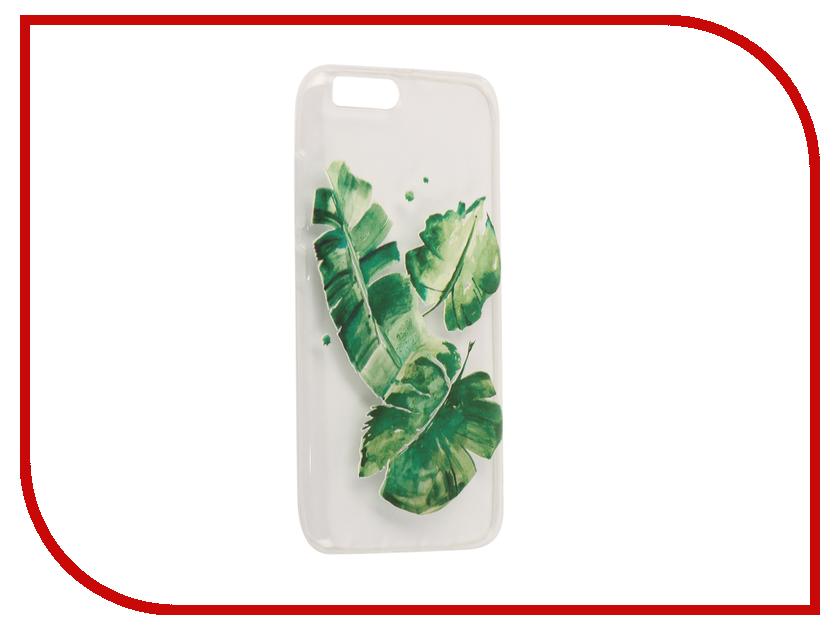 Аксессуар Чехол для Xiaomi Mi6 With Love. Moscow Silicone Leaves 6046 аксессуар чехол xiaomi mi6 with love moscow silicone ice cream 6013