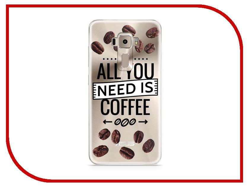 Аксессуар Чехол Asus ZenFone 3 ZE520KL With Love. Moscow Silicone Coffee 5897 аксессуар чехол asus zenfone 3 ze520kl with love moscow кожаный black 10222