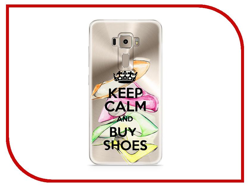 Аксессуар Чехол Asus ZenFone 3 ZE520KL With Love. Moscow Silicone Keep Calm 5902 комбинезон keep calm onesi j sfsh kshh