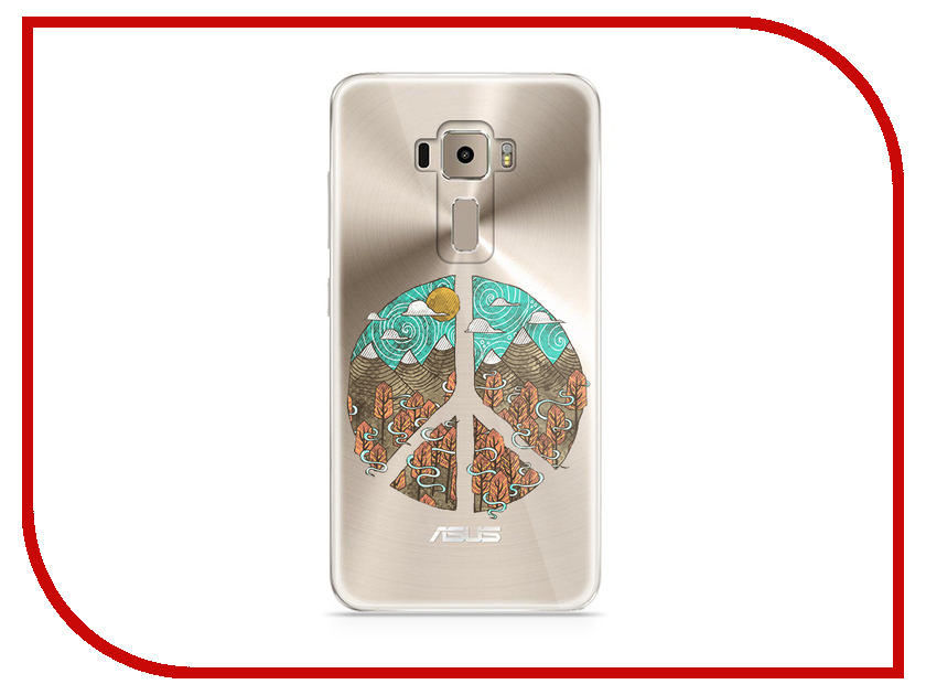 Аксессуар Чехол Asus ZenFone 3 ZE520KL With Love. Moscow Silicone Peace 5907 аксессуар чехол asus zenfone 3 ze520kl with love moscow кожаный black 10222