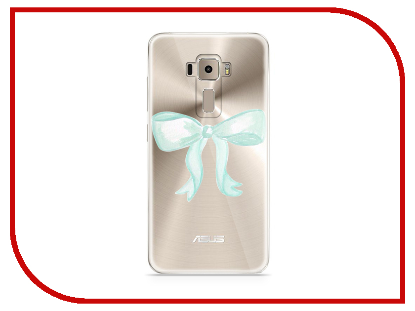 Аксессуар Чехол Asus ZenFone 3 ZE520KL With Love. Moscow Silicone Bow 5915 аксессуар чехол with love moscow для lg stylus 3 кожаный black 10217