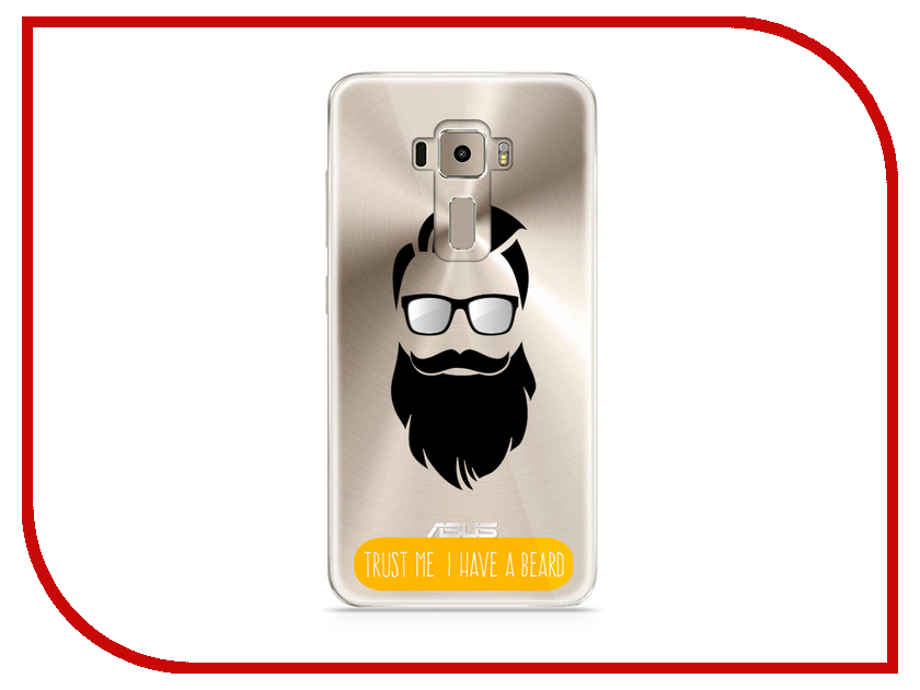 Аксессуар Чехол Asus ZenFone 3 ZE520KL With Love. Moscow Silicone Beard 5917 аксессуар чехол samsung galaxy a3 2017 a320 with love moscow starlight night 6981