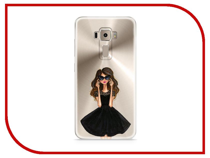 Аксессуар Чехол Samsung Galaxy J7 2017 With Love. Moscow Silicone Girl in a Dress 5193