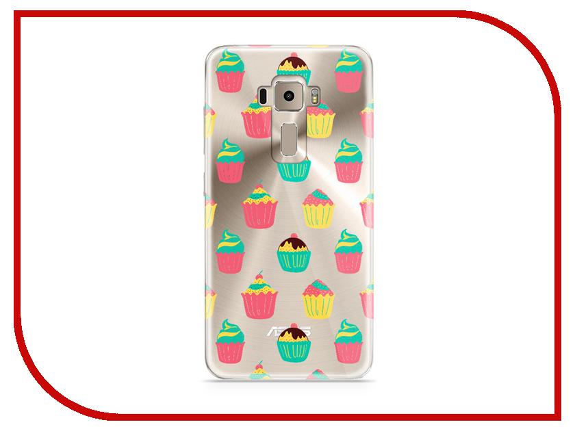 Аксессуар Чехол Asus ZenFone 3 ZE520KL With Love. Moscow Silicone Cupcakes 5925 аксессуар чехол asus zenfone 3 ze520kl with love moscow кожаный black 10222