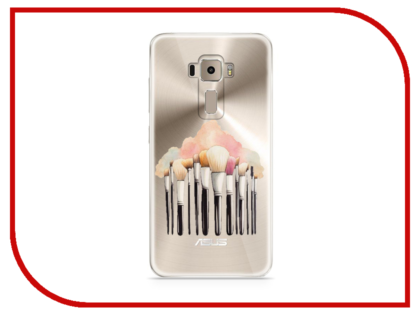 Аксессуар Чехол Asus ZenFone 3 ZE520KL With Love. Moscow Silicone Brushes 5926 аксессуар чехол asus zenfone 3 ze520kl with love moscow кожаный black 10222
