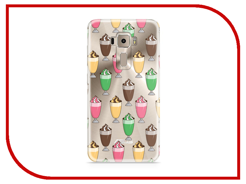 Аксессуар Чехол Asus ZenFone 3 ZE520KL With Love. Moscow Silicone Cocktails 5929 аксессуар чехол samsung galaxy a7 2017 with love moscow silicone lips 5080