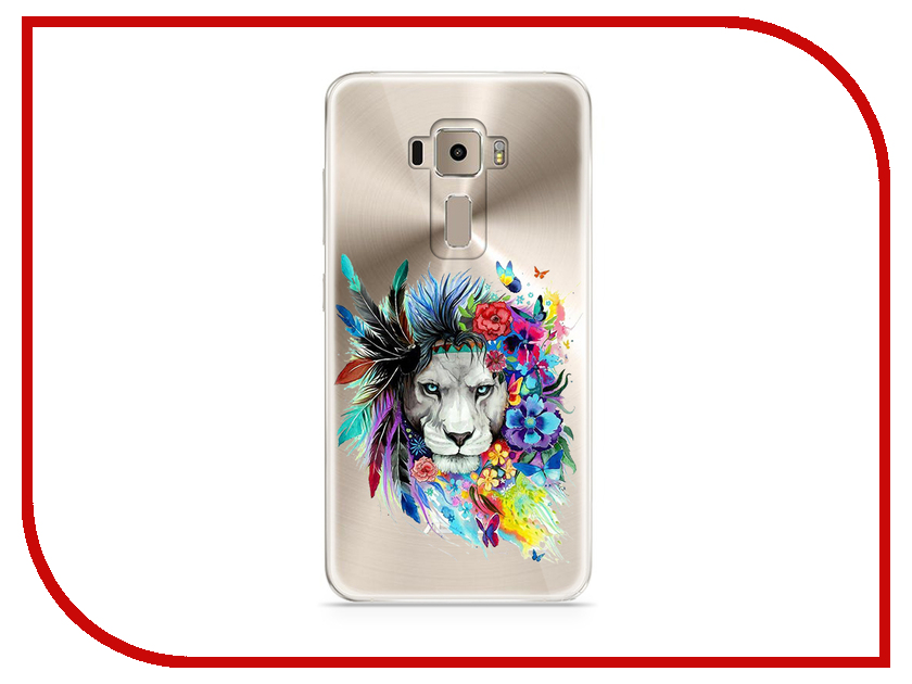 Аксессуар Чехол Asus ZenFone 3 ZE520KL With Love. Moscow Silicone Lions 3 5932