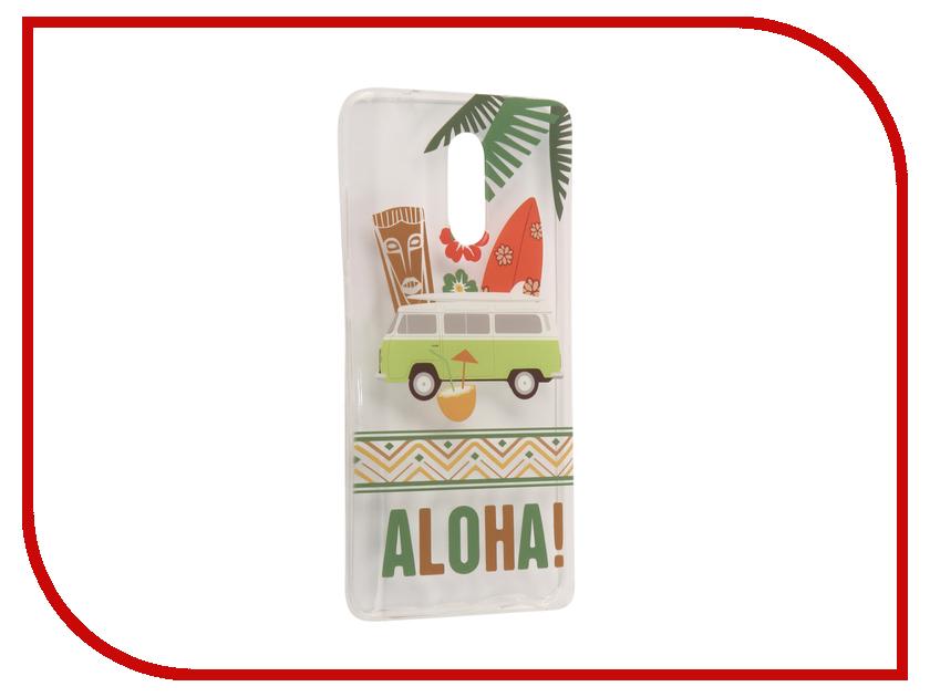 Аксессуар Чехол Xiaomi Redmi Pro With Love. Moscow Silicone Aloha 6064 чехлы для телефонов with love moscow силиконовый дизайнерский чехол для meizu m3s перья