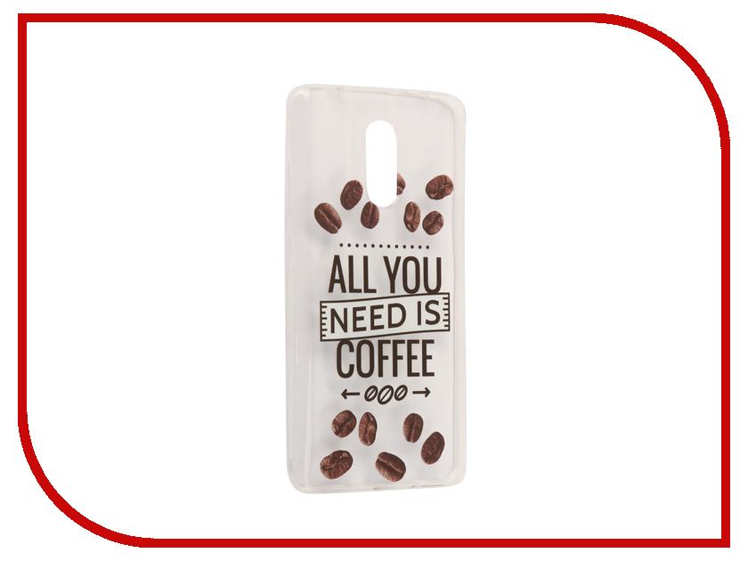 Аксессуар Чехол Xiaomi Redmi Pro With Love. Moscow Silicone Coffee 6065 чехлы для телефонов with love moscow силиконовый дизайнерский чехол для meizu m3s перья