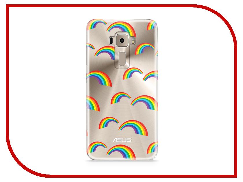 Аксессуар Чехол Asus ZenFone 3 ZE520KL With Love. Moscow Silicone Rainbow 5942 аксессуар чехол asus zenfone 3 ze520kl with love moscow кожаный black 10222