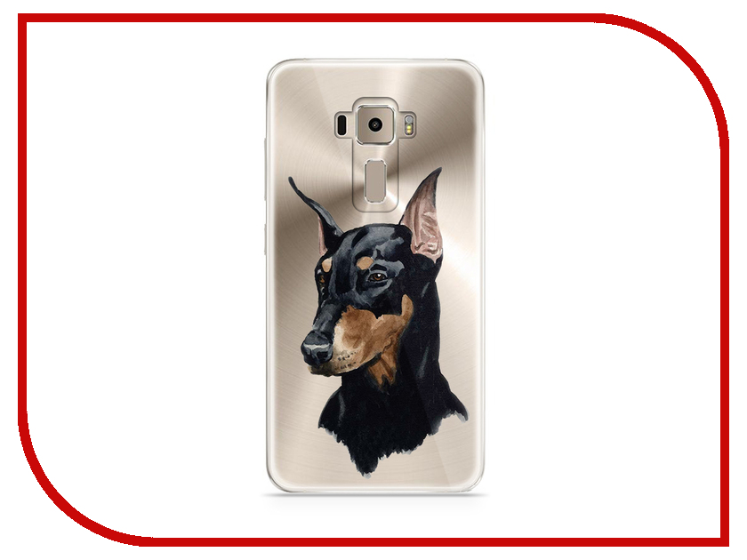 Аксессуар Чехол Asus ZenFone 3 ZE520KL With Love. Moscow Silicone Dog 5944 аксессуар чехол samsung galaxy a7 2017 with love moscow silicone lips 5080