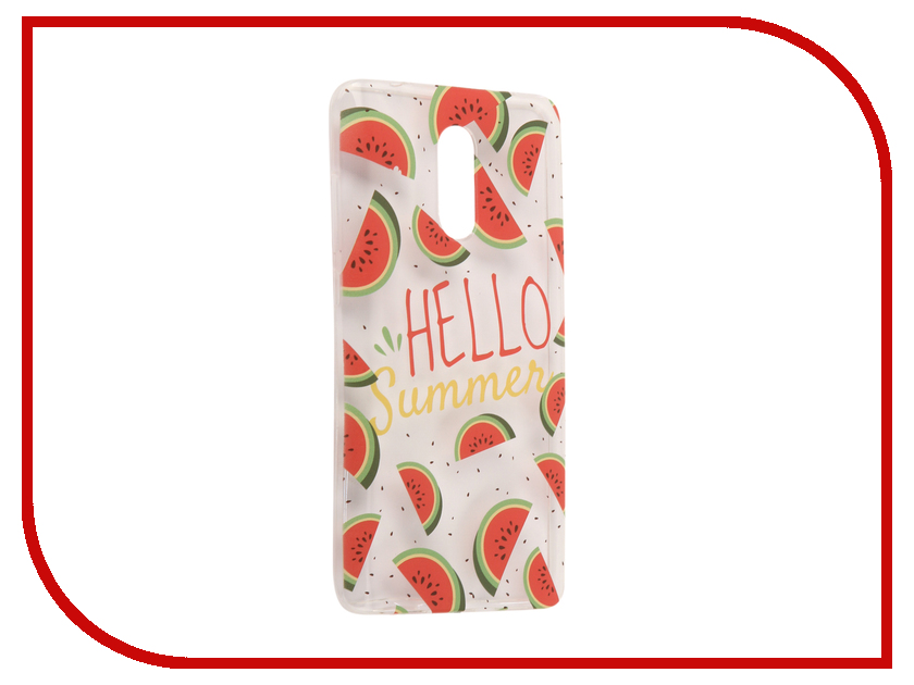 Аксессуар Чехол Xiaomi Redmi Pro With Love. Moscow Silicone Hello Summer 6067 аксессуар чехол xiaomi redmi pro with love moscow silicone peace 6075