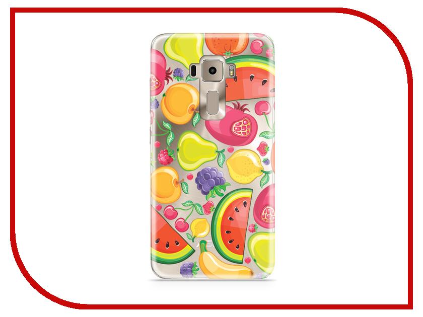 Аксессуар Чехол Asus ZenFone 3 ZE520KL With Love. Moscow Silicone Fruit 5946 аксессуар чехол asus zenfone 3 ze520kl with love moscow кожаный black 10222