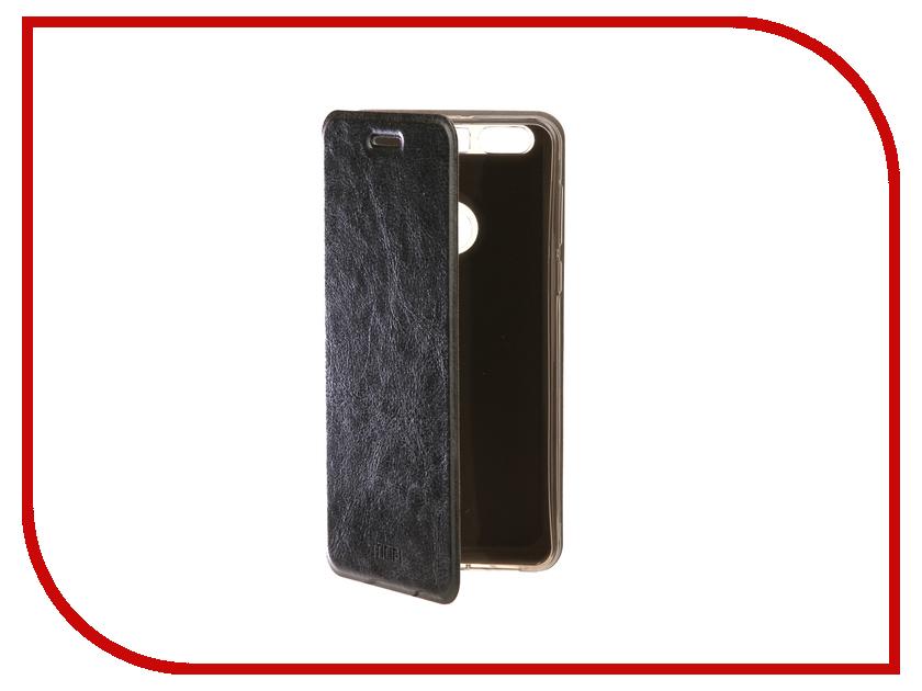 Аксессуар Чехол Huawei Honor 8 Mofi Vintage Black 15038 сотовый телефон huawei honor 5a black
