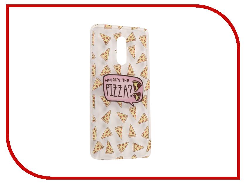 Аксессуар Чехол Xiaomi Redmi Pro With Love. Moscow Silicone Pizza 6076