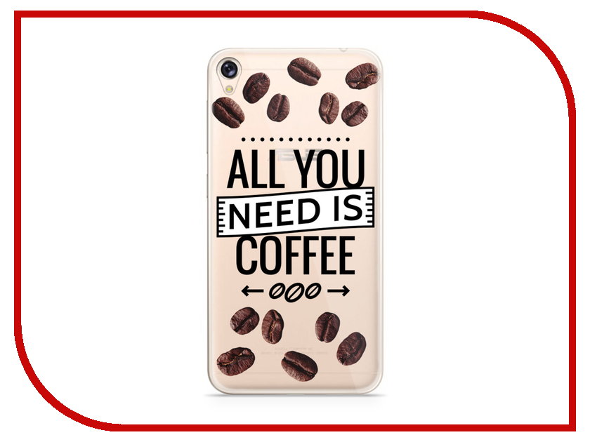 Аксессуар Чехол Asus ZenFone Live ZB501KL With Love. Moscow Silicone Coffee 5953 аксессуар чехол samsung galaxy a3 2017 a320 with love moscow starlight night 6981