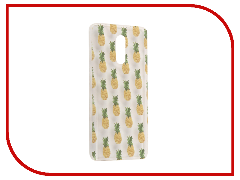 Аксессуар Чехол Xiaomi Redmi Pro With Love. Moscow Silicone Pineapples 6080