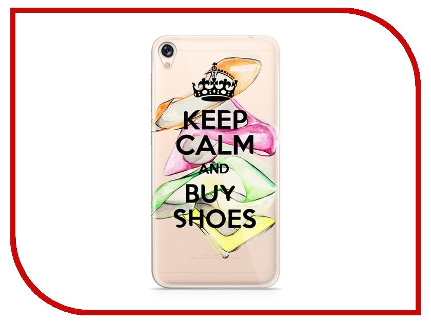 Аксессуар Чехол Asus ZenFone Live ZB501KL With Love. Moscow Silicone Keep Calm 5958 комбинезон keep calm onesi j sfsh kshh