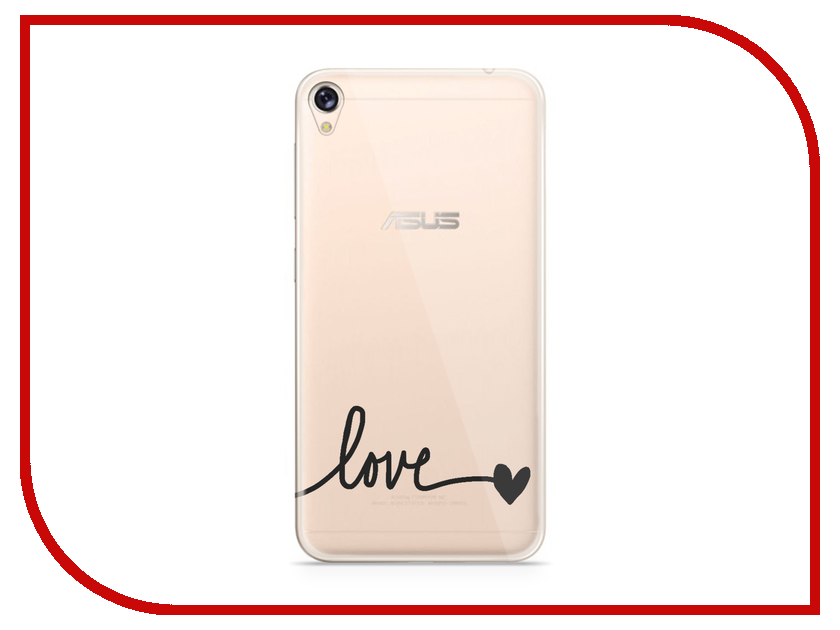 Аксессуар Чехол Asus ZenFone Live ZB501KL With Love. Moscow Silicone Love 5960
