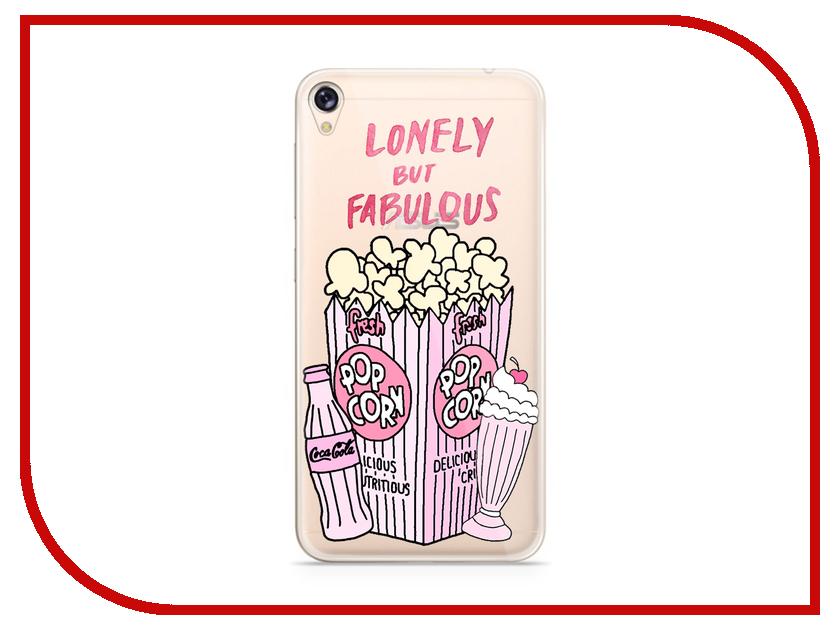 Аксессуар Чехол Asus ZenFone Live ZB501KL With Love. Moscow Silicone Popcorn 5965 чехлы для телефонов with love moscow силиконовый дизайнерский чехол для meizu m3s перья