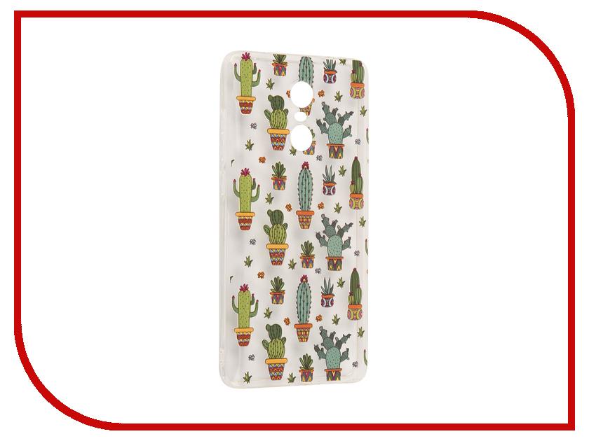 Аксессуар Чехол Xiaomi Redmi Pro With Love. Moscow Silicone Cactus 6092 аксессуар чехол xiaomi redmi pro with love moscow silicone peace 6075