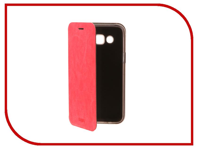 Аксессуар Чехол для Samsung Galaxy J5 2016 Mofi Vintage Pink 15158