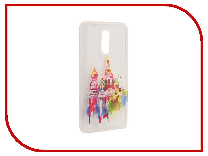 Аксессуар Чехол Xiaomi Redmi Pro With Love. Moscow Silicone Russia 6098