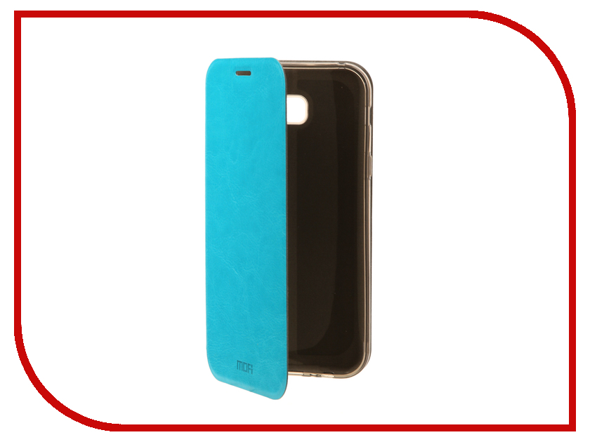 Аксессуар Чехол для Samsung Galaxy A7 2017 Mofi Vintage Light Blue 15098