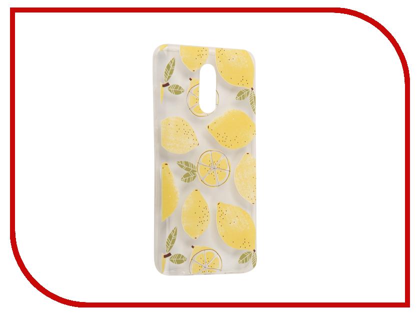 Аксессуар Чехол Xiaomi Redmi Pro With Love. Moscow Silicone Lemons 6101 чехлы для телефонов with love moscow силиконовый дизайнерский чехол для meizu m3s перья