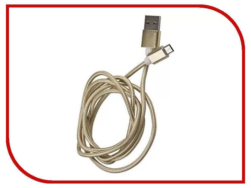 Аксессуар Dorten Metallic micro-USB to USB Gold DN128101