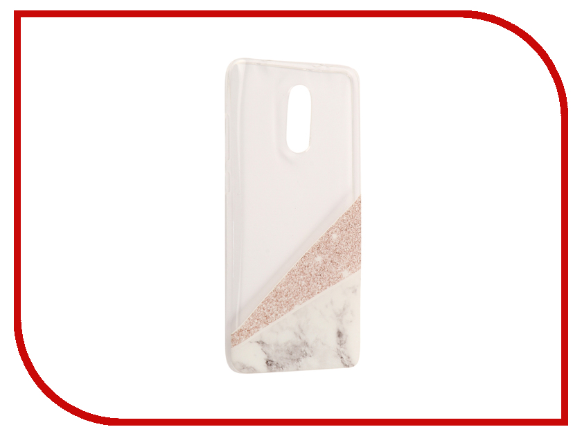 Аксессуар Чехол Xiaomi Redmi Pro With Love. Moscow Silicone Marble 6105