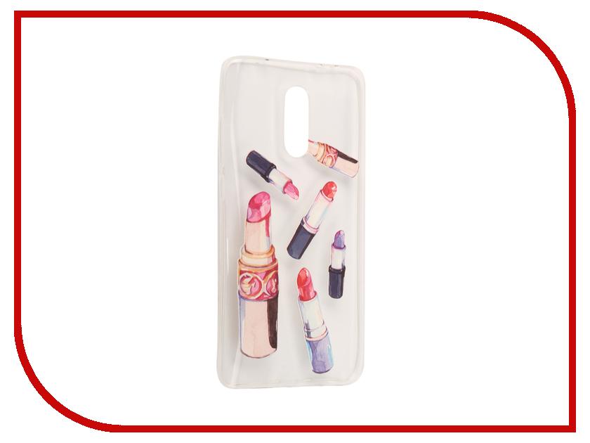 Аксессуар Чехол Xiaomi Redmi Pro With Love. Moscow Silicone Lipsticks 6108 6108 1 r6108 1