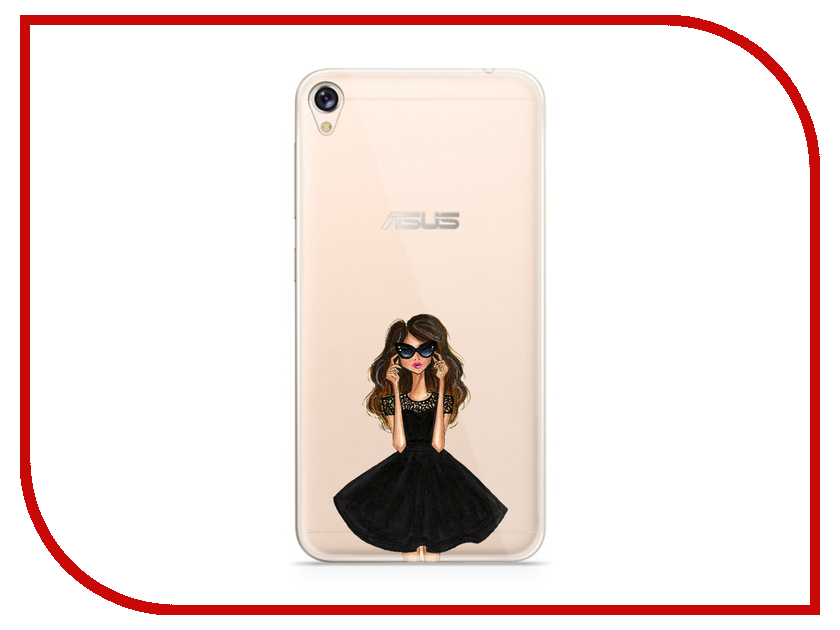 Аксессуар Чехол Asus ZenFone Live ZB501KL With Love. Moscow Silicone Girl in Dress 5977 дидюля дидюля live in moscow 2 cd