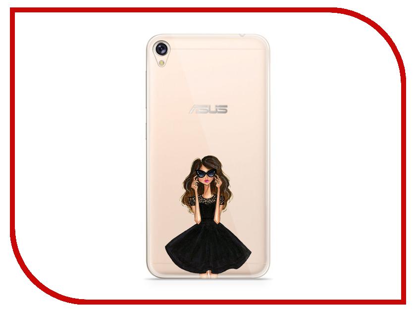 Аксессуар Чехол Asus ZenFone Live ZB501KL With Love. Moscow Silicone Girl in Dress 5977 книги издательство аст девочка которая воспарила над волшебной страной и раздвоила луну