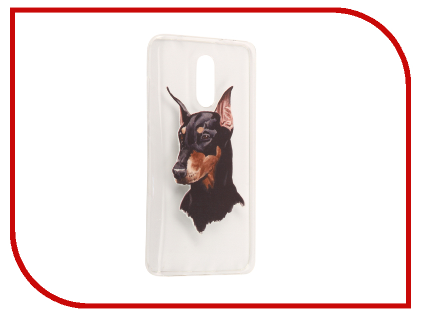 Аксессуар Чехол Xiaomi Redmi Pro With Love. Moscow Silicone Dog 6112 аксессуар чехол xiaomi redmi pro with love moscow silicone peace 6075