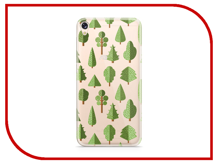 Аксессуар Чехол Asus ZenFone Live ZB501KL With Love. Moscow Silicone Trees 5979 аксессуар чехол samsung galaxy a3 2017 a320 with love moscow starlight night 6981