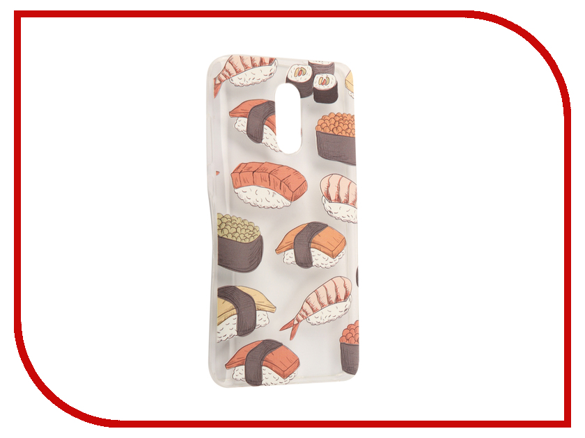 Аксессуар Чехол Xiaomi Redmi Pro With Love. Moscow Silicone Sushi 6113