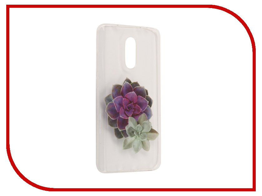 Аксессуар Чехол Xiaomi Redmi Pro With Love. Moscow Silicone Flower 2 6115
