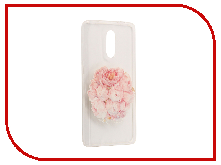 Аксессуар Чехол Xiaomi Redmi Pro With Love. Moscow Silicone Flower 6116