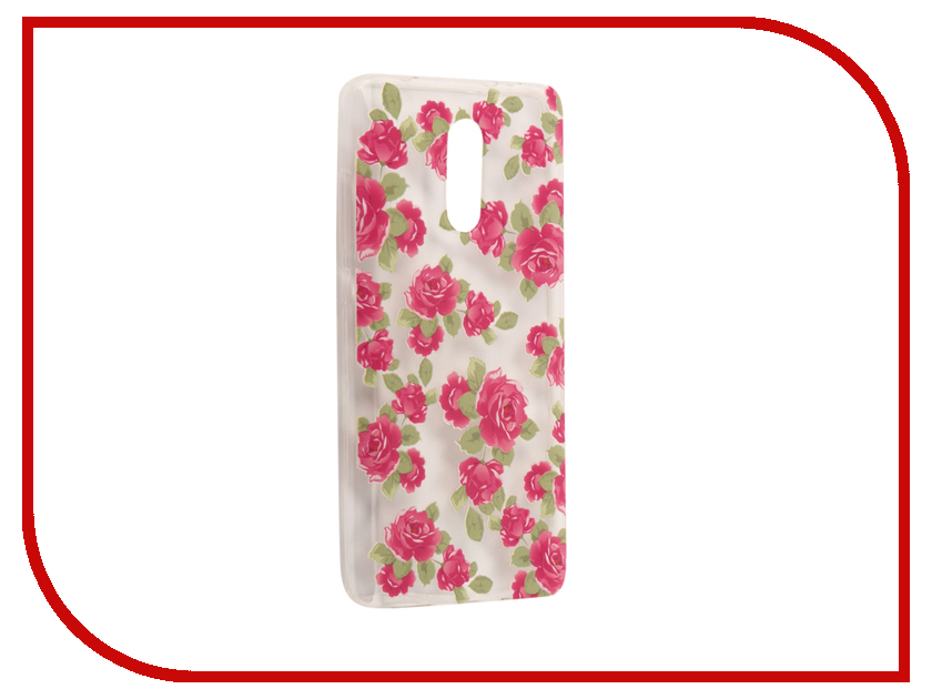 Аксессуар Чехол Xiaomi Redmi Pro With Love. Moscow Silicone Flower 5 6117