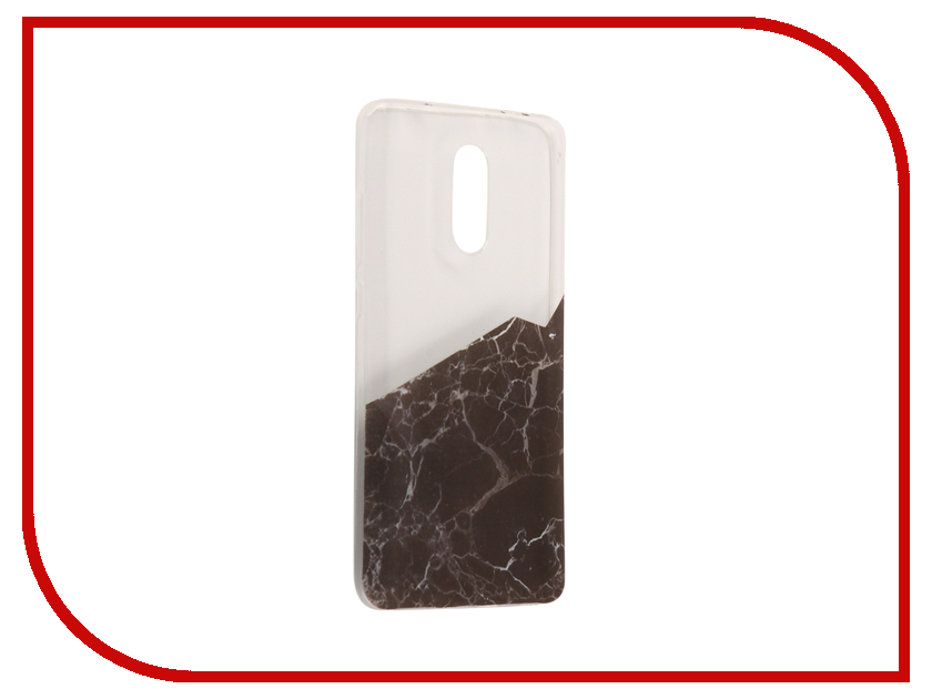 Аксессуар Чехол Xiaomi Redmi Pro With Love. Moscow Silicone Black Marble 2 6118