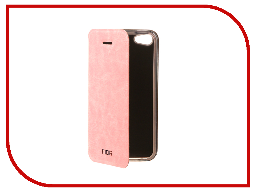 Аксессуар Чехол Mofi Vintage для APPLE iPhone 5S/SE Pink 15008 аксессуар чехол накладка krutoff для apple iphone 5 5s se transparent black 10672