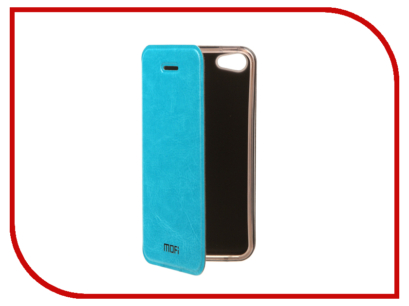 Аксессуар Чехол Mofi Vintage для APPLE iPhone 5S/SE Light Blue 15009 аксессуар чехол ibox blaze для apple iphone 5 5s se pink