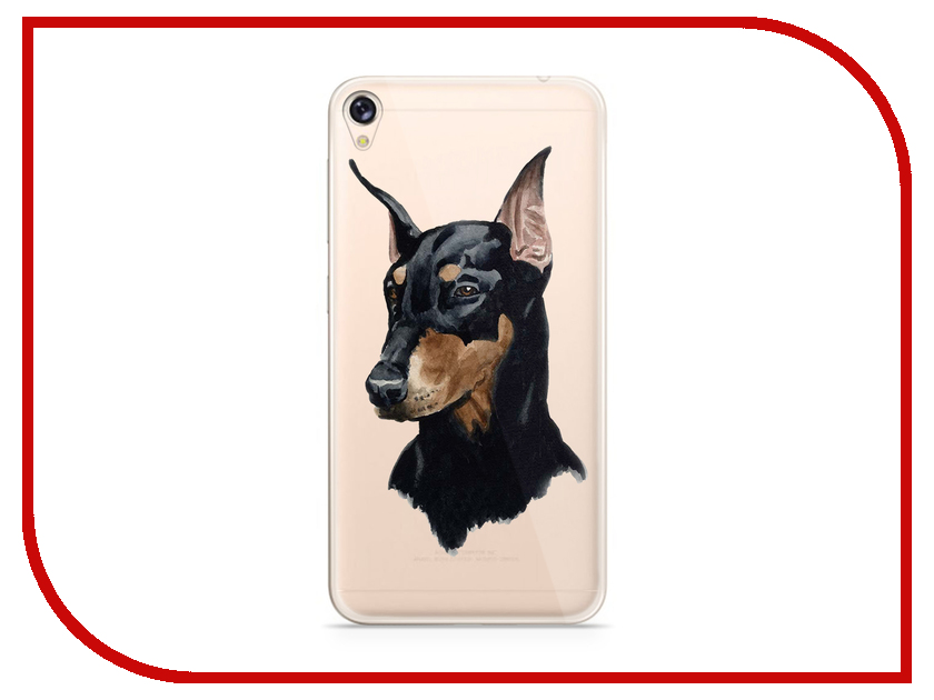 Аксессуар Чехол Asus ZenFone Live ZB501KL With Love. Moscow Silicone Dog 6000