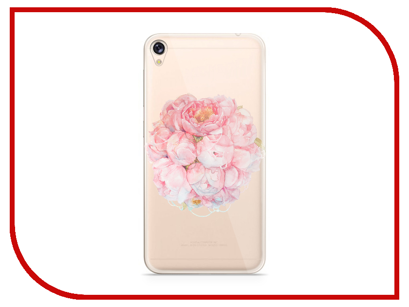 Аксессуар Чехол With Love. Moscow для Asus ZenFone Live ZB501KL Silicone Flower 6004