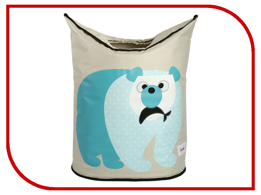 Корзина 3 Sprouts Blue Polar Bear SPR603 polar a360 blue