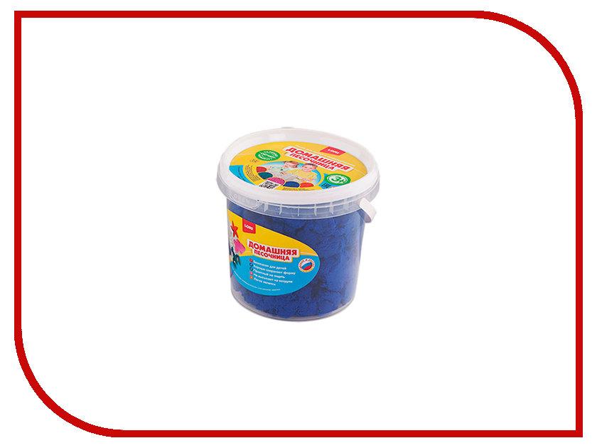 Набор для лепки Lori Домашняя песочница Синий песок 1kg Дп-015 hsd 015